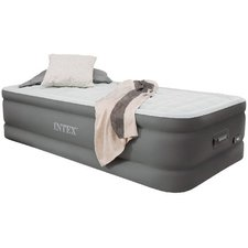 Intex 64482 Twin PremAire Airbed + Pomp + USB + LED 191x99x46 cm