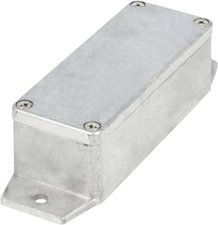 RND Components RND 455-00437 Metalen Behuizing, Zwart, 80 X 125 X 40 Mm, Aluminium Alloy / Adc12, Ip65