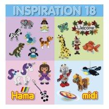 Hama Midi Strijkkralen Inspiratie-Boekje Nummer 18