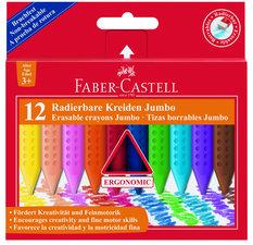 Faber Castell FC-122540 Krijt Jumbo GRIP Doos 12 Stuks