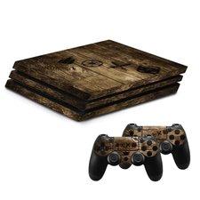 Hama Design-skin Wood Voor PlayStation 4 PRO