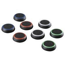 Hama Set Control-stick-opzetstukken Colors 8in1 Voor PS4 Gekleurd