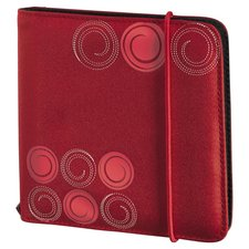 Hama Utf Cd/Dvd Wallet 24,Red