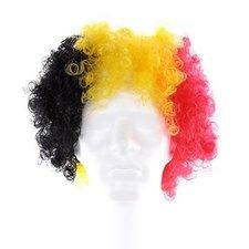 Belgian Red Devils   Wig 3 Colors