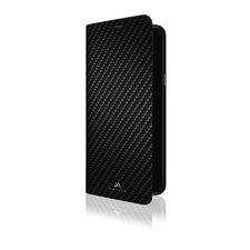 Black Rock Booklet Flex Carbon Voor Samsung Galaxy A6+ (2018) Zwart