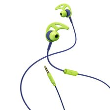 Hama In-ear-stereo-headset Action Blauw/groen