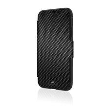 Black Rock Booklet Flex Carbon Robust Voor Apple IPhone Xs Zwart