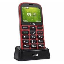 Doro 1361 RD GSM Mobiele Telefoon Rood/Zwart