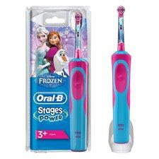 Oral B Stage Power Disney Frozen Elektrische Tandenborstel Blauw/Roze