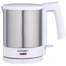 Cloer 4701 Waterkoker 1800W 1.5L RVS/Wit