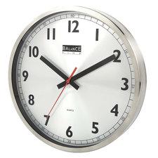 Balance 506575 Wall Clock 30 Cm Analogue Aluminum