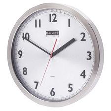 Balance 506740 Wall Clock 40 Cm Analogue Aluminum