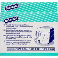 Delonghi 5525101500 Vervangingsfilterset voor Friteuse