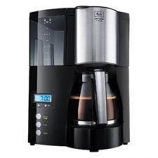 Melitta 6613648 Optima Timer Koffiezetapparaat Zwart/RVS