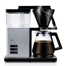 Melitta AromaSignature DeLuxe Koffiezetapparaat Zwart/RVS