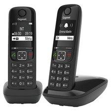 Gigaset AS690R Telefoons 2 Stuks Zwart