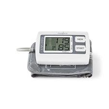 Nedis BLPR110WT Bloeddrukmeter Voor Bovenarm Lcd Groot 2x 60 Geheugenopslag