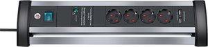 Brennenstuhl BN-1395000514 Overspanningsbeveiligde Stekkerdoos1.8 M - Protective Contact