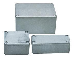 Fixapart BOX G115 Electrical Enclosure Aluminium 148 X 108 X 75 Mm