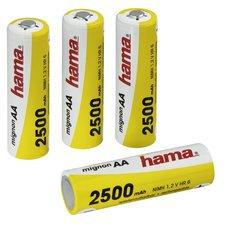 Hama Heroplaadbare NiMH-batterij 4xAA 2500mAh