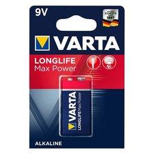 Varta Longlife Max Power 9V Batterij