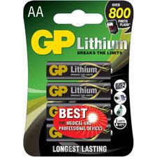 GP Batteries Gp Batterij Primary Lithium Aa A4