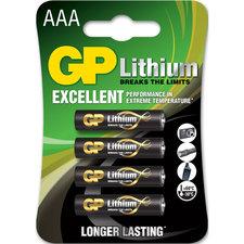 GP Batteries Gp Batterij Primary Lithium Aaa A4