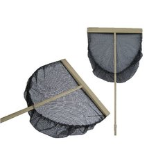 Garnalennet 50cm Zwart