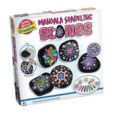 Small World Creative Mandala Sparkling Stones