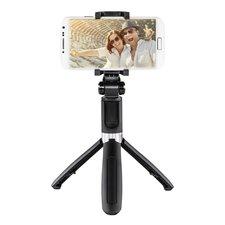 Hama Selfie-stick Funstand 57 Met Bluetooth-ontspanner Zwart