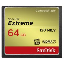 Sandisk CF Extreme 64GB 120MB/s Read 85MB/s Write
