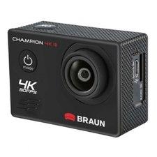 Braun Photo Technik Champion 4K III Action Cam Waterproof Tot 30m Zwart