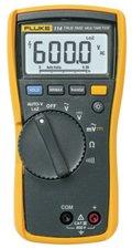 Fluke 114 Digitale Multimeter  Rms 6000 Cijfers 600 Vac 600 Vdc