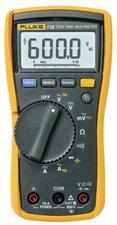 Fluke 115 Digitale Multimeter  Trms Ac 6000 Cijfers 600 Vac 600 Vdc 10 Adc