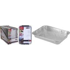 BBQ Aluminium Grillschalen Set 5 Stuks
