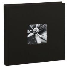 Hama Album XL Fine Art 30x30 Cm 100 Zwarte Pagina's Zwart