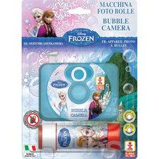 Disney Frozen Bubble Camera + 60ml Bellenblaas
