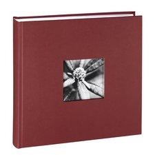 Hama Album XL Fine Art 30x30 Cm 100 Witte Pagina's Bordeaux