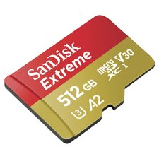 Sandisk MicroSDXC Extreme 512GB (A2/ V30/ U3/ R160/ W90) + Adapter Mobile