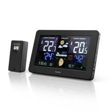Hama Weerstation Premium Met Led-kleurendisplay En USB-oplaadfunctie