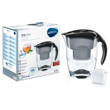 Brita Waterfilterkan Elemaris XL Zwart 3,5L