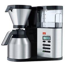 Melitta AromaElegance Koffiezetapparaat + Thermoskan 1.25L Zwart/RVS