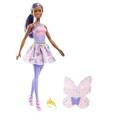 Barbie Dreamtopia Feeënpop + Accessoires Paars