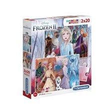 Clementoni Disney Frozen 2 Supercolor Puzzel 2x20 Stukjes