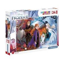 Clementoni Disney Frozen 2 Supercolor Puzzel 24 Stukjes