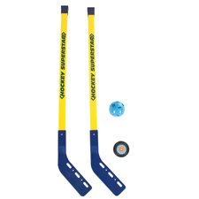 Summertime Hockeyset 4-delig Geel/Blauw