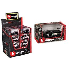 Burago 1:43 Race Auto Assorti Display 24 Stuks