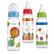 Nuby Baby Drinkfles 240ml Assorti