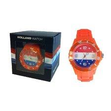 Horloge Oranje Medium