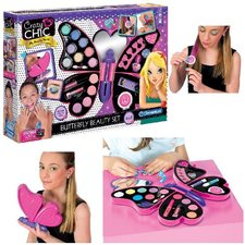 Clementoni Crazy Chic Butterfly Beautyset Make-Up Koffer